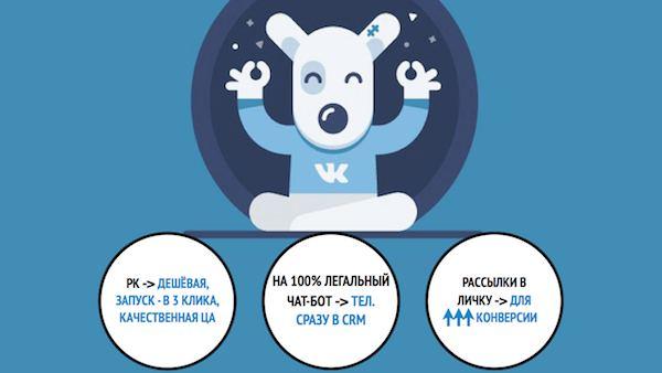 Поток обращений на туры из ВКонтакте…по 78₽